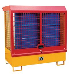Drum Storage Unit - with Lockable Cage Cover