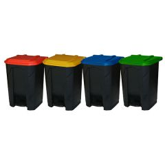 Pedal Bin with Lid - 50 Litre