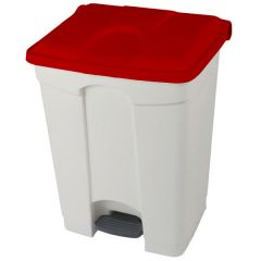 Pedal Bins with Coloured Lids - 70 Litre