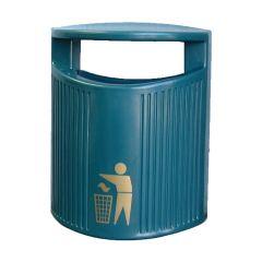 Plaza Hooded Waste Bin