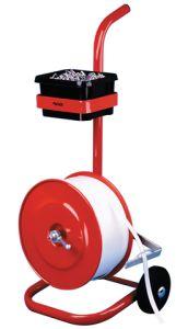 Mobile Woven Polyester Strap Dispenser & Holder