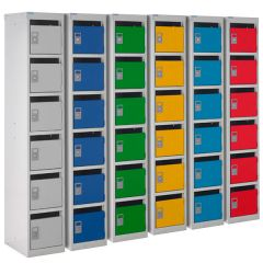 240 Series Mail Box Locker - 6 Lockers - Group