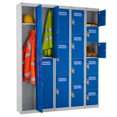 Armour PPF Lockers Open Compartments