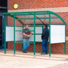 Premier Smoking Shelters - Steel Sides