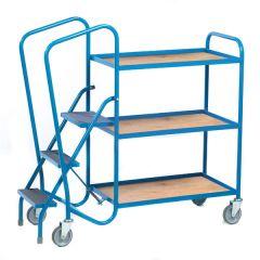 Picking Trolley - 3 Shelf Plywood