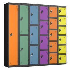 Probe Autumn Lockers - Black Door
