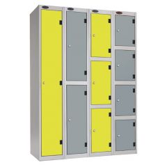Probe Shockbox Locker with Inset Doors - H1780mm