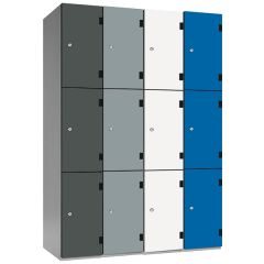 Probe Shockbox Locker with Overlay Doors - H1780mm