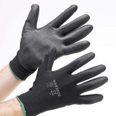 Black PU Gloves