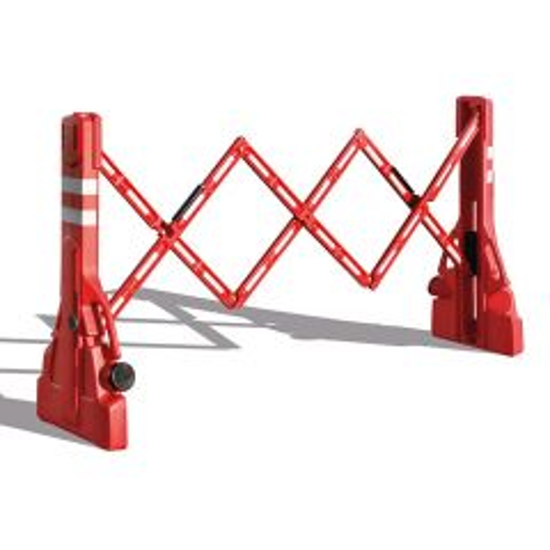 PVC Extending Safety Barrier 2.2m