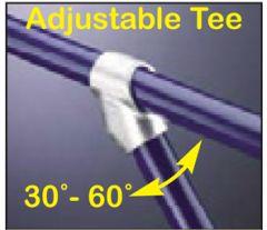 Adjustable Tee 30°-60°