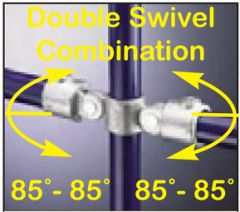 Double Swivel Combination 85°-85°