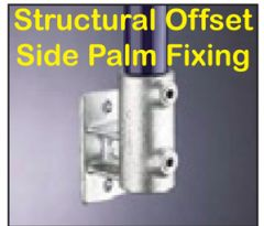 Structural Offset Side Palm Fixing