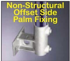 Non-Structural Offset Side Palm Fixing