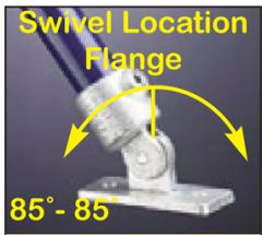 Swivel Location Flange 85°-85°
