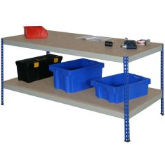 Rivet style workbench - Chipboard Worktop