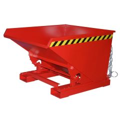 Universal Roll Forward Tipping Skip - Red