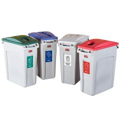 Slim Jim Recycling - Set of 4