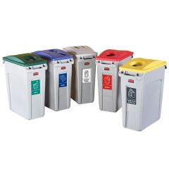 Slim Jim Containers - Recycling Bins