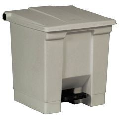 Rubbermaid Step-On Waste Container - 30.3 Litre
