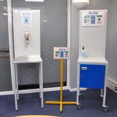 Sanitation Stations