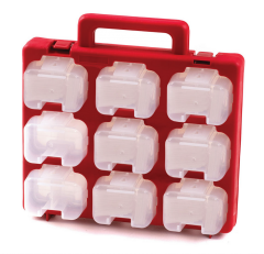 Organiser Carry Case for Screws, Nuts, Bolts etc.