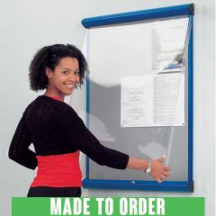 Shield® Showline Covered Notice Boards - Made to Order
