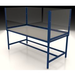 Social Distancing Workbenches with Protective Screens