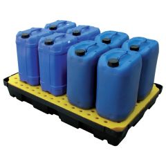 Spill Tray with Grate 100L