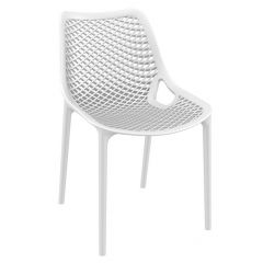 White Spring Side Chair