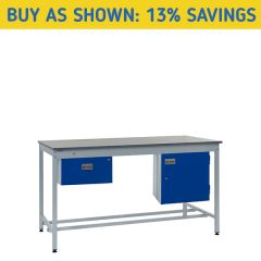 Square Tube Industrial Workbench Kit 1 - 13% Savings