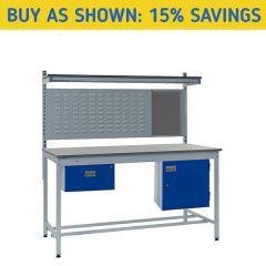 Square Tube Industrial Workbench Kit 2 - 15% Savings