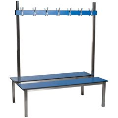 Stainless Steel Double Cloakroom Bench Units