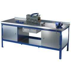 Super Heavy Duty Steel Workbenches - Blue