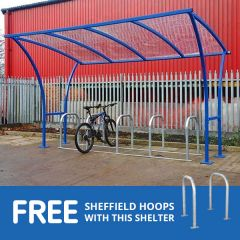 Tintagel Cycle Shelter with Free Hoops