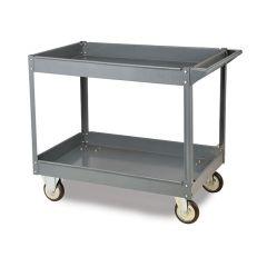 2 Shelf Toptruck Steel Shelf Trolley 250kg