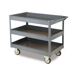 3 Shelf Toptruck Steel Shelf Trolley 250kg