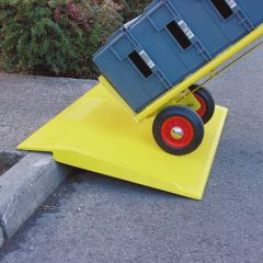 Traffic-Line Glassfibre Reinforced Plastic Ramp In Use