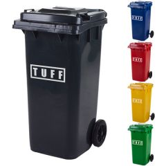 120 litre wheelie bins