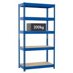 TUFF Shelving 200kg - Blue