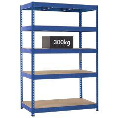 TUFF Shelving 300kg - Blue