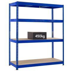 TUFF Shelving 450kg - Blue