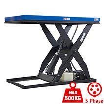 TUFF Static Scissor Lift Table - 500kg