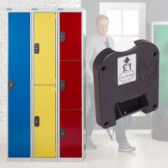 TUFF Coin Return Lockers