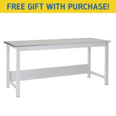 TUFF Heavy Duty Storage Laminate Workbench - Free gift with purchase
