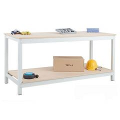 TUFF Heavy Duty Budget Workbench with Shelf - 250kg UDL