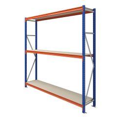 TUFF Longspan Shelving 2.5mtr High 3 Shelves