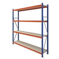 TUFF Longspan Shelving 2.5mtr High 4 Shelves