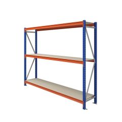 TUFF Longspan Shelving 2mtr High 3 Shelves