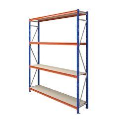TUFF Longspan Shelving 3mtr High 4 Shelves